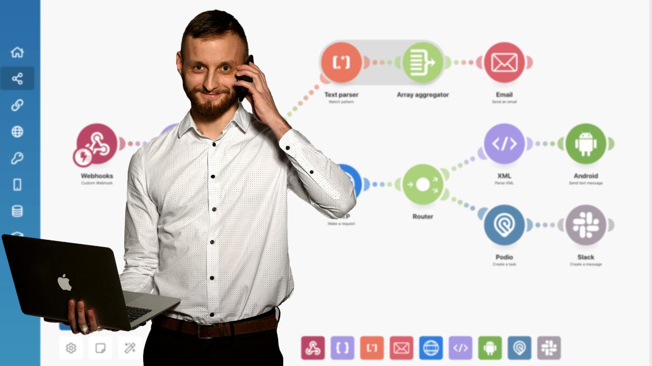Integromat – Poradnik, konfiguracja – tańsza alternatywa Zapier.com